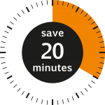 NRF Save 20 minutes